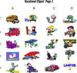 Vocational Clipart 3