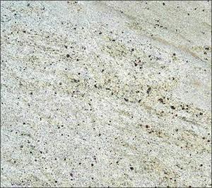 """Kashmir White Granite 12""""x12"""" Tile - One Side Bullnosed"""
