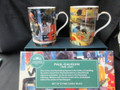 Castle Gauguin Mug Pair, 1 ONLY