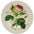 Redoute Rose Dessert Plate