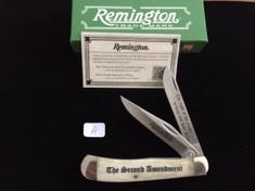 Remington - 2nd Amendment Trapper - Smooth White Bone - A