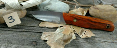 Landi Knives - PSK - Cocobolo Wood C - A2 Steel