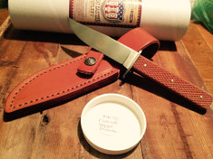 Great Eastern Cutlery - #50 Bowie Knife - Jigged Natural Micarta - 440C Stainless Steel