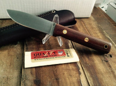 LT Wright Handcrafted Knives -  Maverick Scout  - Polished Natural Micarta - A2 Steel