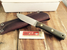 LT Wright Handcrafted Knives -  Maverick Scout  - Polished Green Micarta - A2 Steel