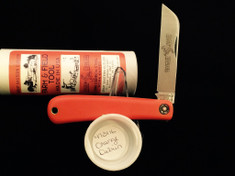 Great Eastern - #47 Hayn' Helper - Farm and Field - Single Sheepsfoot Blade - Orange Delrin