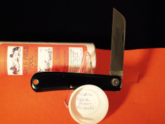 Great Eastern - #47 Hayn' Helper - Farm and Field - Single Sheepsfoot Blade - Black Linen Micarta