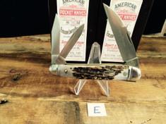Schatt & Morgan Cutlery - #54 Coles Whittler - American Elk - E