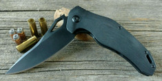 Brous Blades - VR71 G10 Edition - Black G10 Handles - Blackout Finish