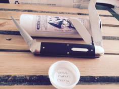 Tidioute - Texas Cattle Knife - Gabon Ebony Wood
