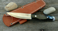 American Knife Company - Compact Forest - Buffalo Horn - Rough Out Finish