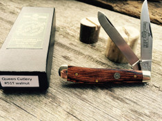 Queen Cutlery  - 51T Mini Trapper - Nice American Walnut