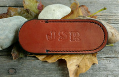 JSR -  Small Leather Knife Sleeve