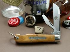 Tidioute - Huckleberry Boys Knife - Beer Scout - Beer Barrel Oak Wood - (7)