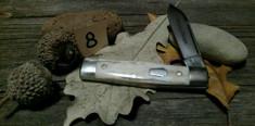 Schatt & Morgan Cutlery - JSR EXCLUSIVE - Gunstock - Single Spear Blade - Smooth American Elk (8)