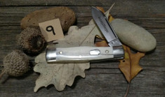 Schatt & Morgan Cutlery - JSR EXCLUSIVE - Gunstock - Single Spear Blade - Smooth American Elk (9)