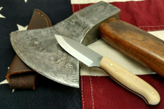 LT Wright  Handcrafted Knives - Patriot - Snakeskin Micarta - Matte - Scandi Grind - AEB-L Stainless Steel - NEW