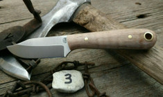 LT Wright Handcrafted Knives  -  Frontier Trapper  - Nice Maple Wood Handles (3)- AEB-L Stainless Steel - NEW