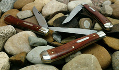 GEC - Tidioute - Weasel - Single Blade -  Blood Wood