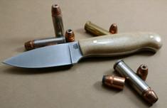 LT Wright  Handcrafted Knives - Patriot -  Snakeskin Micarta - Polished Finish - Flat Grind - 3V Steel - NEW