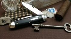 Great Eastern Cutlery  -  #35 Churchill - Gabon Ebony Wood -6 - NEW RELEASE