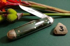 Great Eastern Cutlery -  Northfield  -  #35 Churchill - Hummingbird Acrylic - 3- NEW RELEASE
