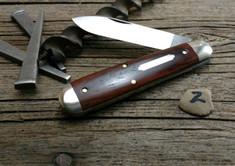 GEC - Tidioute - #78 American Jack - Single Blade - Cocobolo Wood -2