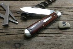 GEC - Tidioute - #78 American Jack - Single Blade - Cocobolo Wood -5
