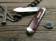 GEC - Tidioute - #78 American Jack - Single Blade - Cocobolo Wood -10