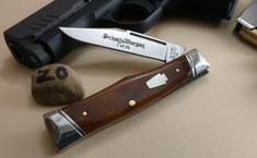 Schatt & Morgan Cutlery - #40 Gunstock - Smooth Amber Bone - 20 - NEW