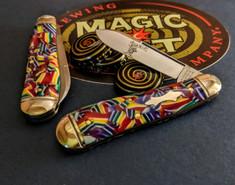 GEC - Northfield - Bird Dog - Mardi Gras Acrylic - Single Blade - NEW