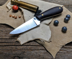 LT Wright Handcrafted Knives -  Frontier First -  Double Red Micarta - Flat Grind -  01 Tool Steel