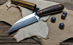 L.T. Wright Handcrafted Knives - NEW Small Wharncliffe  - Burlap  Micarta - VERY LIMITED RUN!