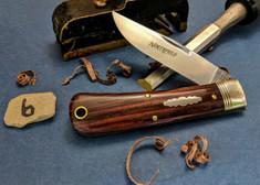 Great Eastern Cutlery - Northfield - Oregon Trapper  - Cocobolo Wood - 6