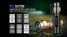 Olight - S1A Baton Flashlight - Limited Edition - Rose Gold