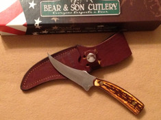 Bear and Son - Upswept Skinner- Stag Delrin