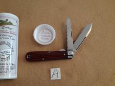 Tidioute - #15 Electricians Knife - Cocobolo Wood - AA