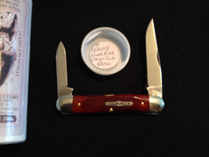 Tidioute -  Calf Roper Slim - Rust Red Saw Cut Bone - (NEW)