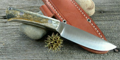 Bark River Knives - Highland Special - Green Camel Bone