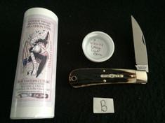 Tidioute - #47 Viper - Stag Cut Bone - B
