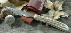 Silver Stag - Corky Cutter - Elk Antler Handles