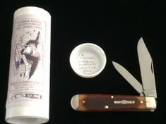 Tidioute - #77 Yankee Jack - Antique Autumn Saw Cut Bone