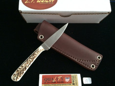 L.T. Wright Handcrafted Knives -  Coyote LE  - Stag - A