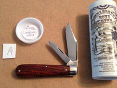 Tidioute - #15  Huckleberry Boys Knife - Cocobolo Wood