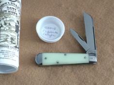 Tidioute -  Huckleberry Boys Knife - Sheepsfoot  -  Nifebrite Acylic