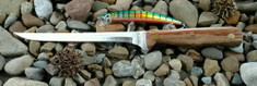 Hess Knifeworks - Mackanaw Fillet Knife - Birdseye Maple Wood