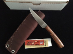L.T. Wright Handcrafted Knives -  Coyote - Desert Ironwwood Handles