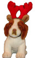 Holiday Plush Pup - Antlers