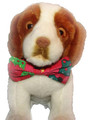 Holiday Plush Pup - Bowtie