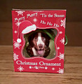 Christmas Brittany Ornament